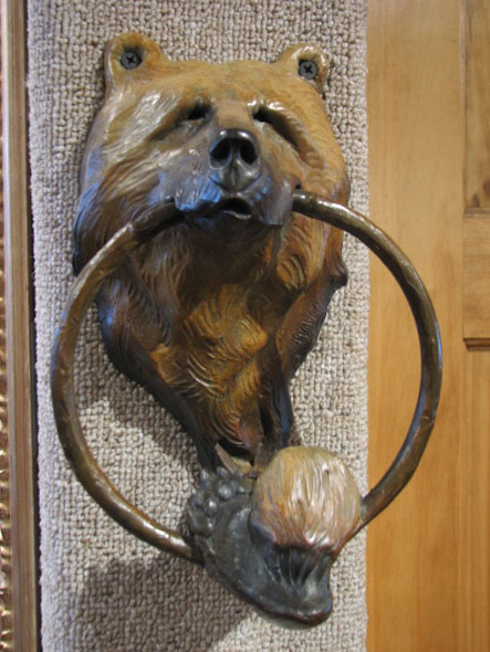 Bear Doorknocker
