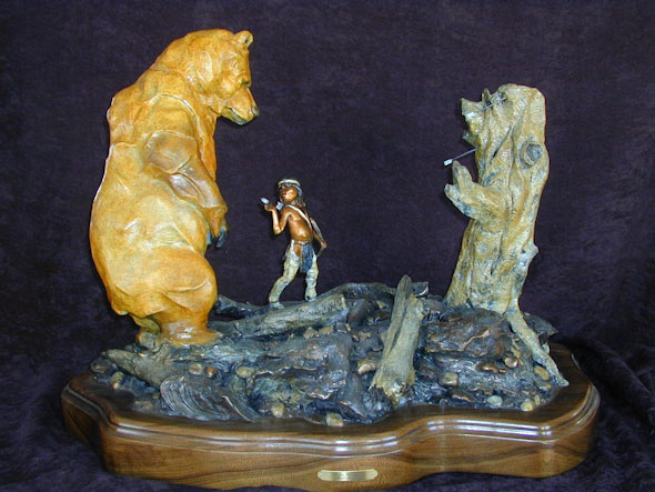 Two Bears Maquette